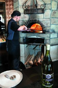 Aldo's Ristorante, wood fired oven