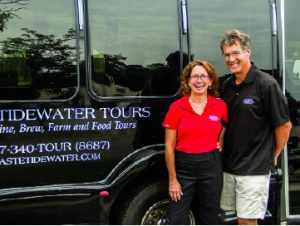 """No other tour company has yet done the work or established the relationships with local farms, retaurants, breweries, wineries and even oystermen,"" said owners Lisa and Rex Hamaker."