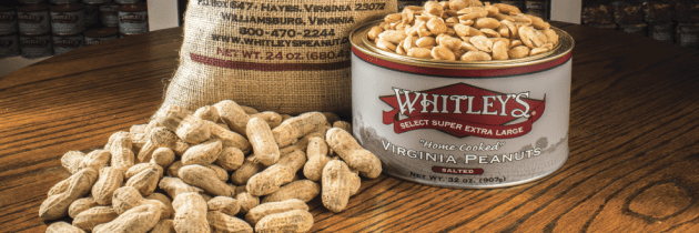 Go Nuts Over Whitley's Peanut Factory