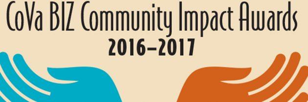 CoVa BIZ Community Impact Awards 2016–2017