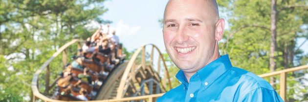 Busch Gardens Williamsburg President David Cromwell is on the Ride of His Life