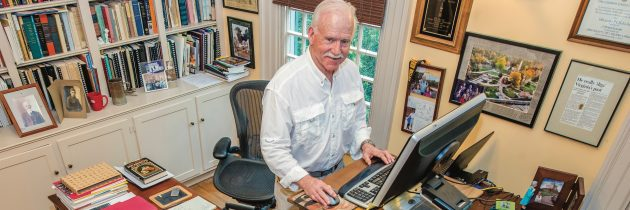 Jamestown Archaeologist Dr. William Kelso's Fascinating Desk