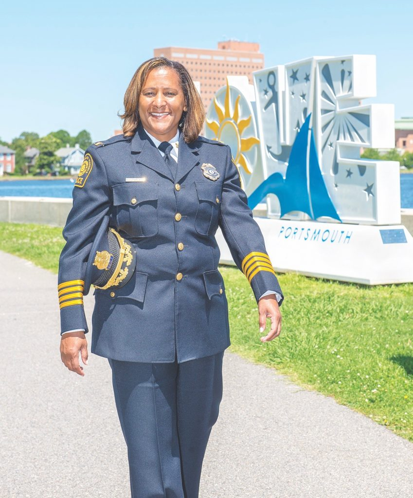 Portsmouth Chief of Police Tonya Chapman, Leading Ladies