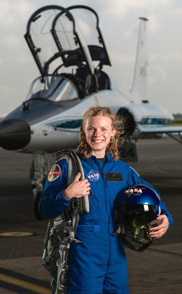 NASA Astronaut Candidate Zena Cardman, Leading Ladies
