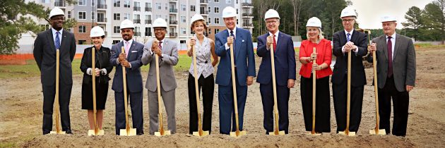 W.M. Jordan Company Breaks Ground On Newport News Tech Center