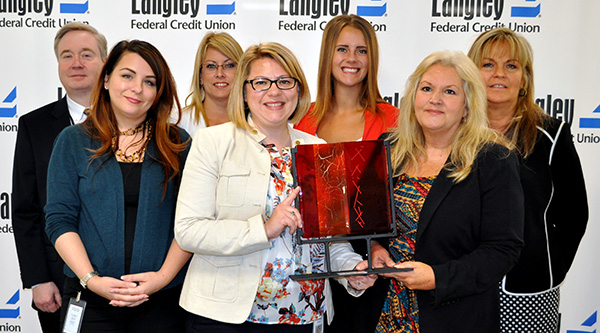 Langley Federal Credit Union Top Credit Union Award