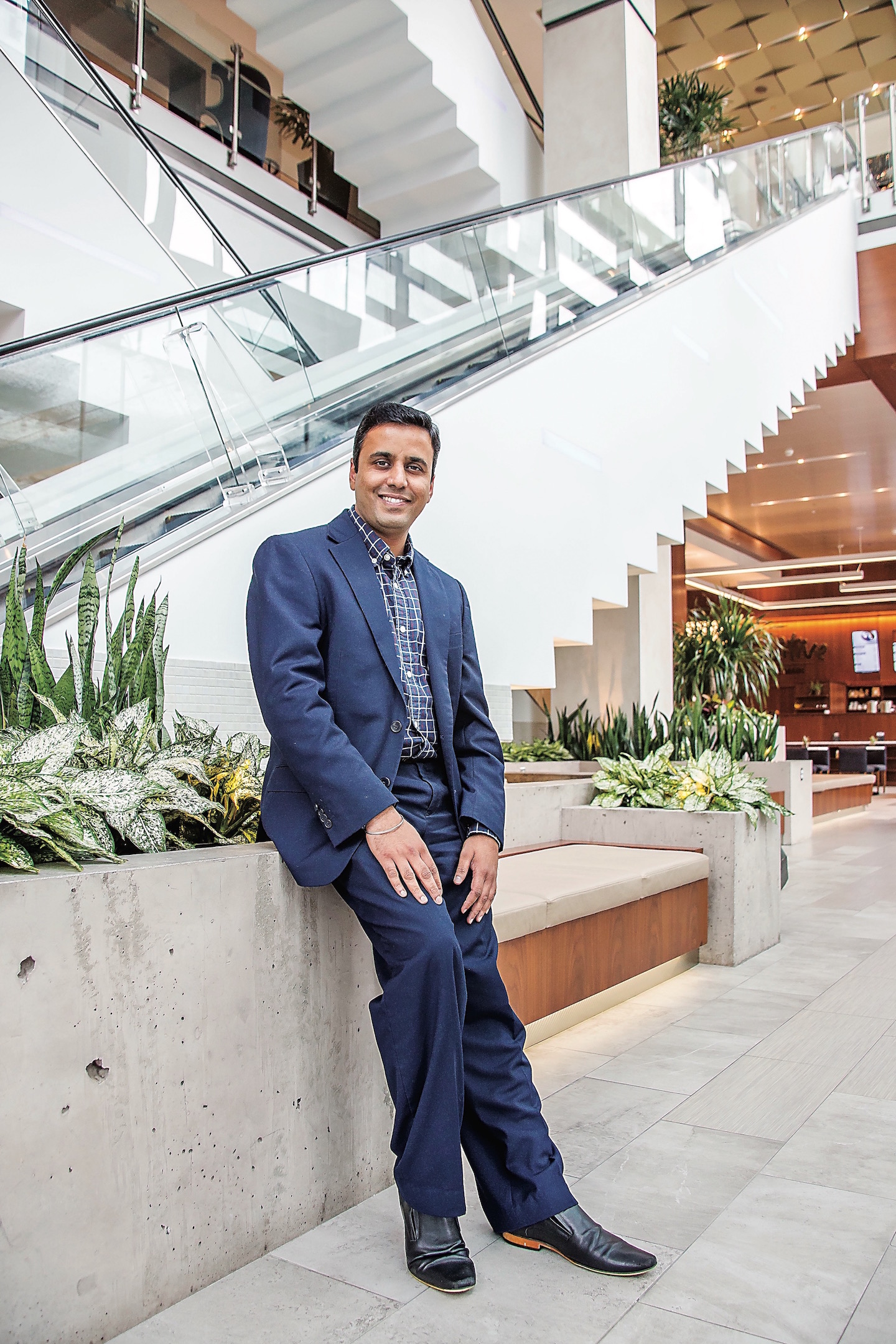 Pratik Kothari, TechArk Solutions Founder & CEO, Hilton Norfolk The Main, Millennials on the Move