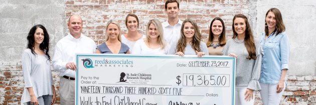Reed & Associates Raises Funds For St. Jude Children's Research Hospital