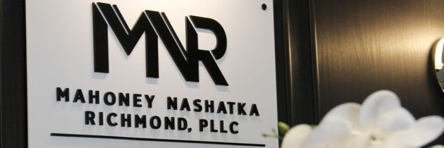 Mahoney Nashatka Richmond Listed Among 2018 Best Law Firms