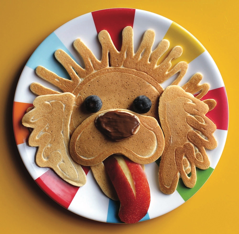 Charles the Monarch ODU Lion Dog, Pancake Art