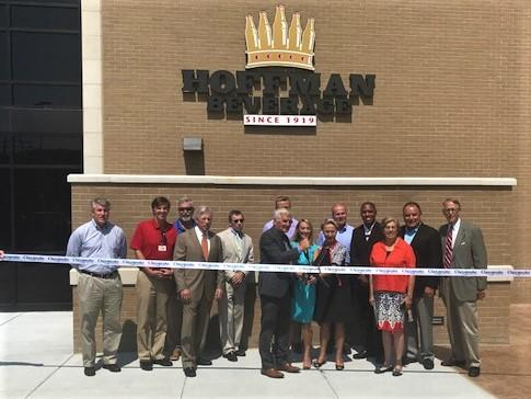 Hoffman Bev Ribbon Cutting PIC