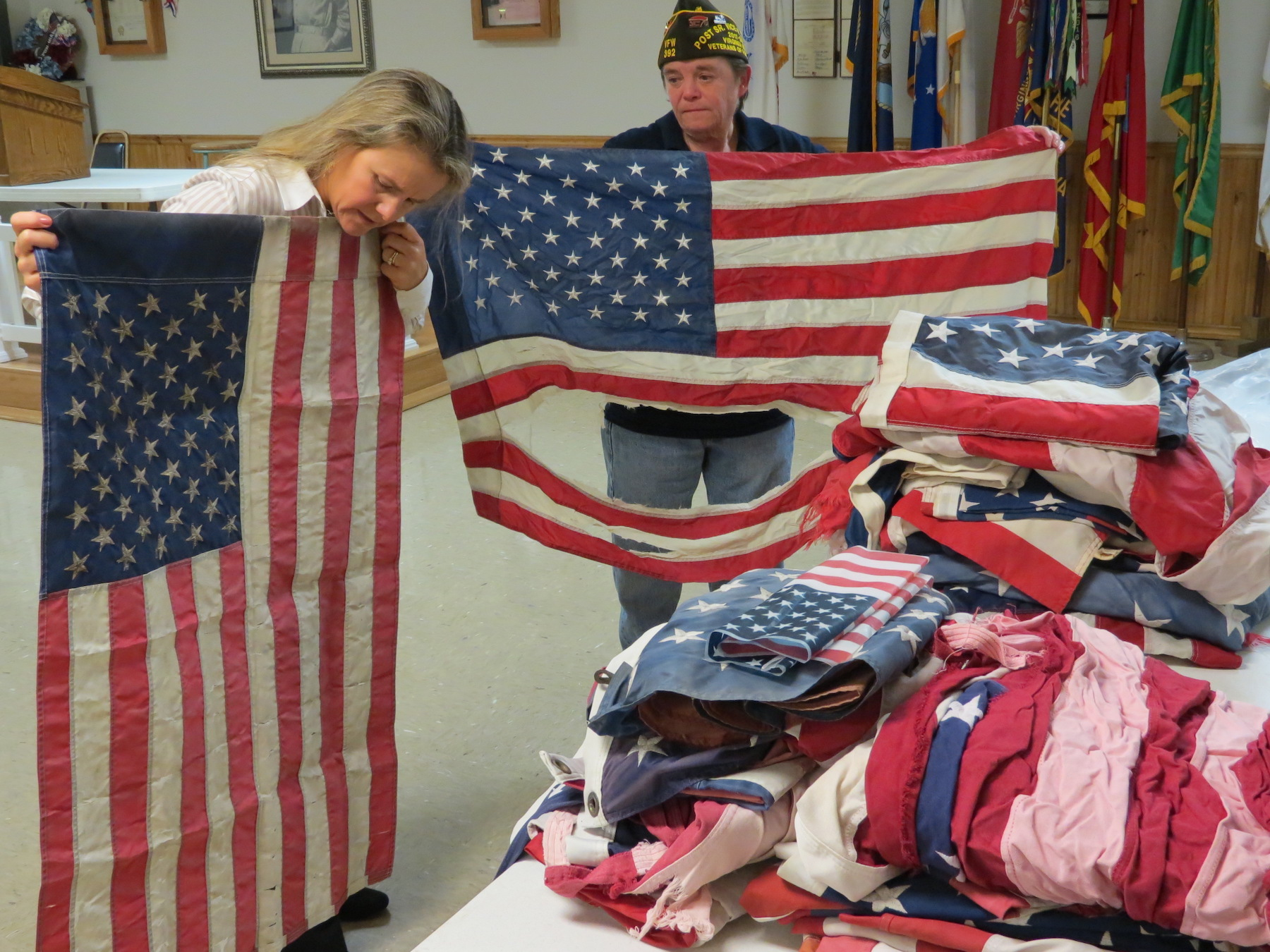 VFW Virginia Beach, American Flag Donations, Veterans Day