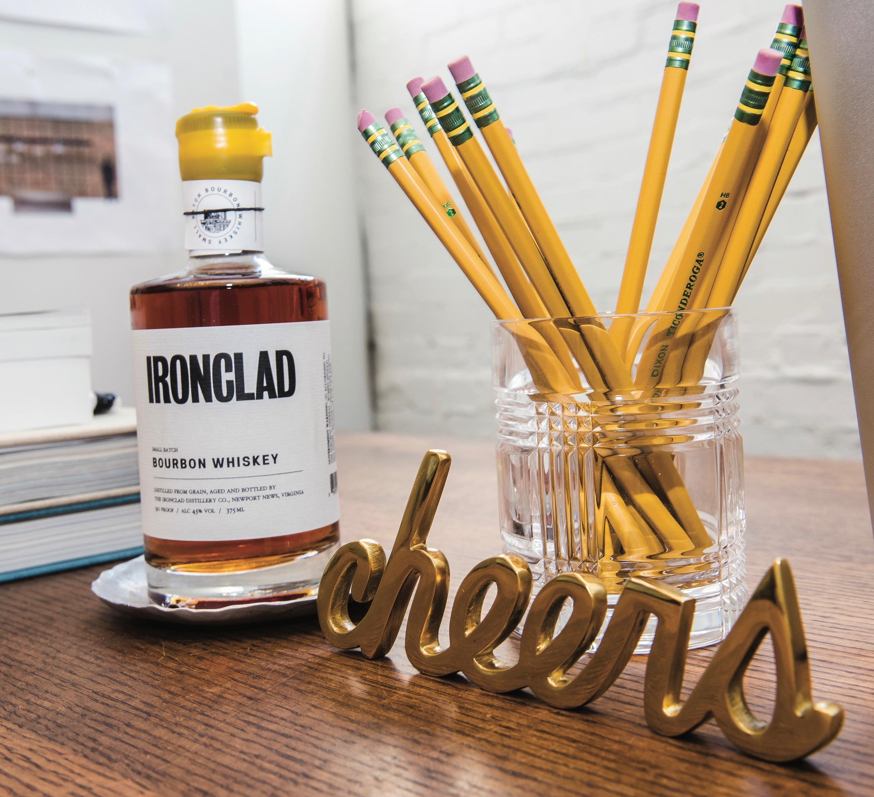 Ironclad Distillery Co., Newport News, Ironclad Bourbon Whiskey