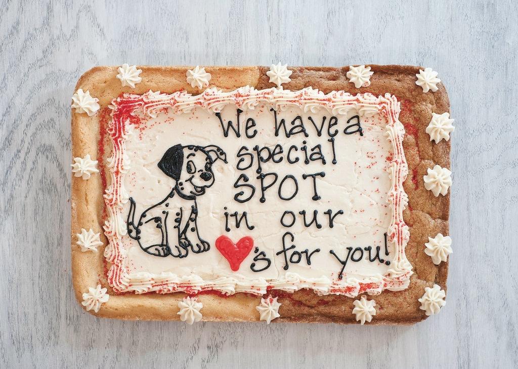 Cookie Text, cookie cake, Hampton Roads, Community Impact Awards