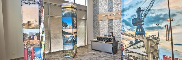 Newport News Tourism's New Office Space in City Center at Oyster Point