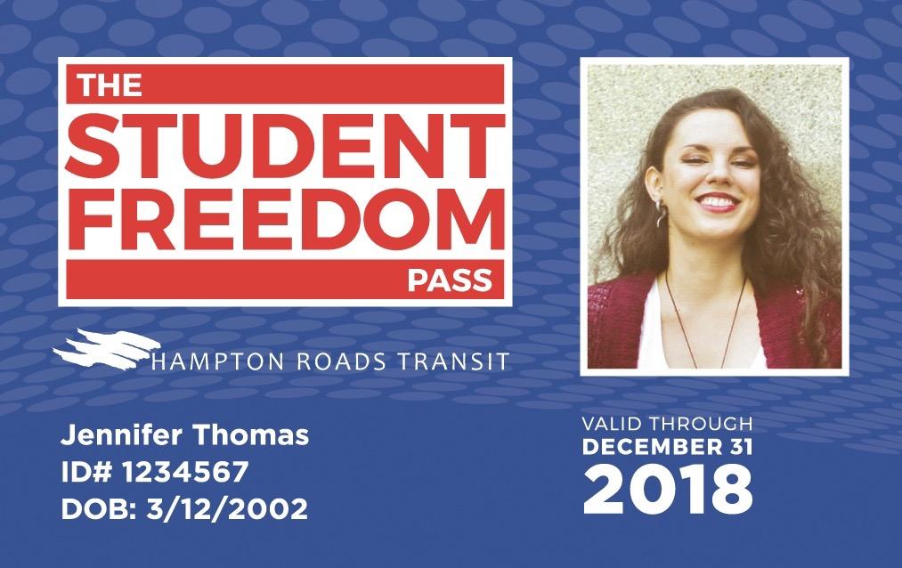Community Impact Awards, Hampton Roads Transit, Student Freedom Pass