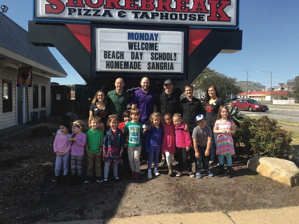 ShoreBreak Pizza & TapHouse Virginia Beach, Hampton Roads, Community Impact Awards