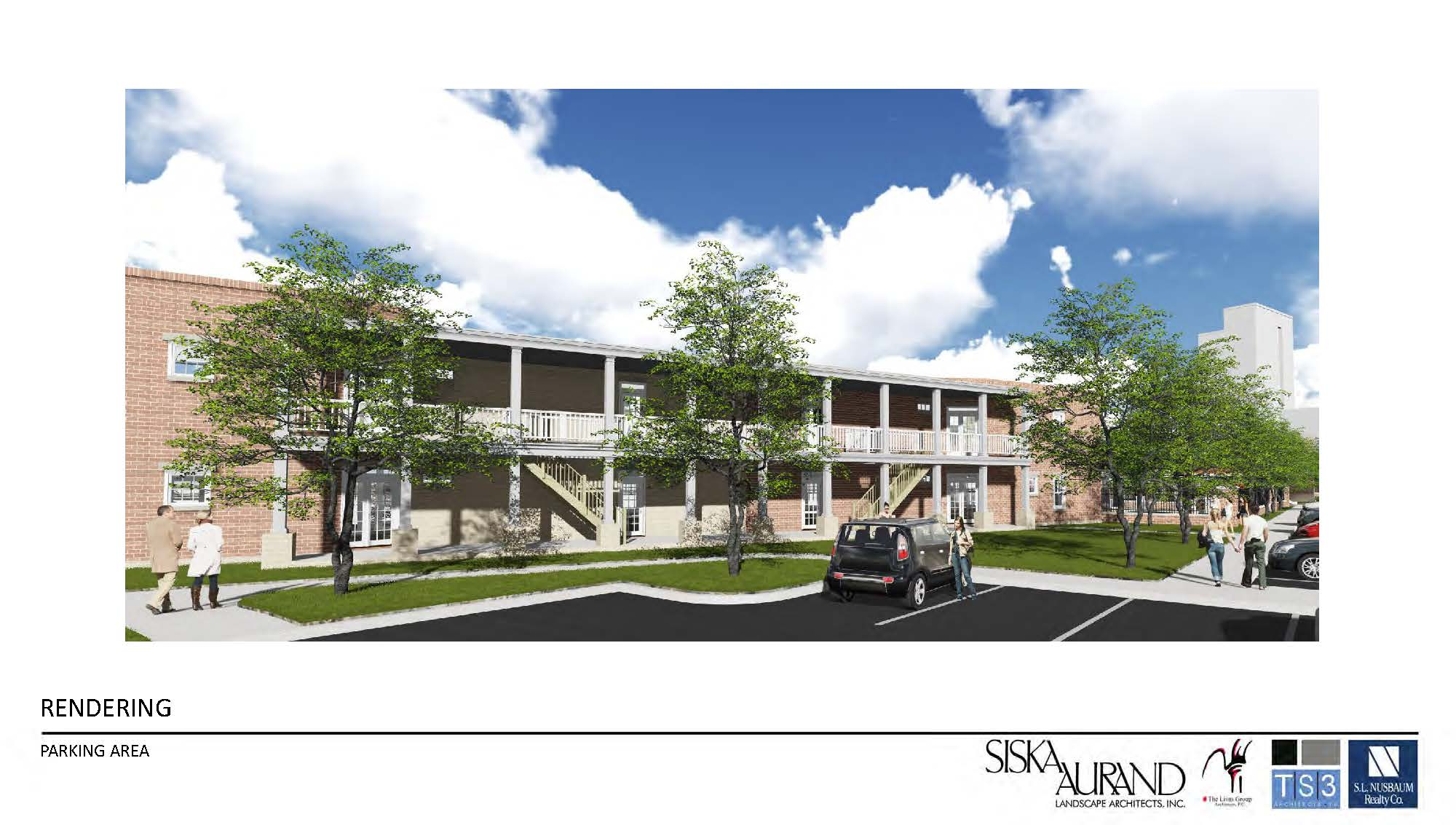 St. Paul's Apartments, Rendering, Norfolk