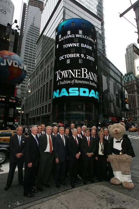 TowneBank NASDAQ