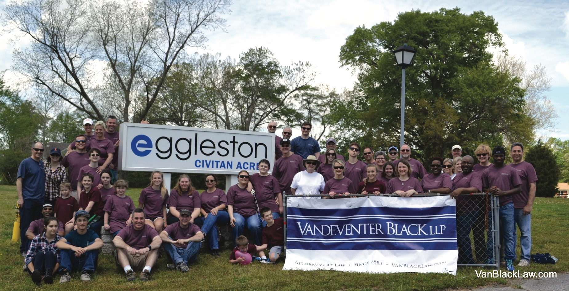 Vandeventer Black, Eggleston Camp, law firm, Hampton Roads, Community Impact Awards