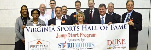 Virginia Sports Hall of Fame and Suffolk Auto Dealers' Jump Start Program In Suffolk Public Schools