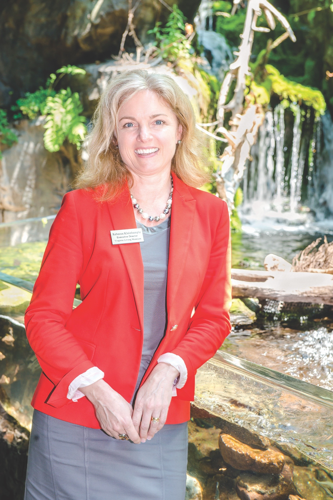 Virginia Living Museum, Newport News, Executive Director Rebecca Kleinhample