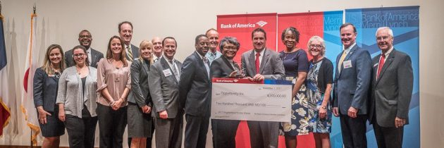 Opportunity Inc. Receives 2017 Neighborhood Builders® Award from Bank of America