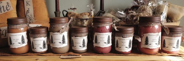 Moosewood Creek Primitives Woodwick Candles