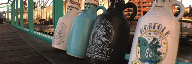 Norfolk Growler Company's Handmade Ceramic Growlers for Craft Beer