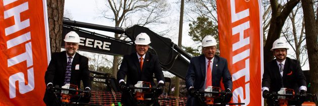 STIHL Breaks Ground on New Facility in Virginia Beach