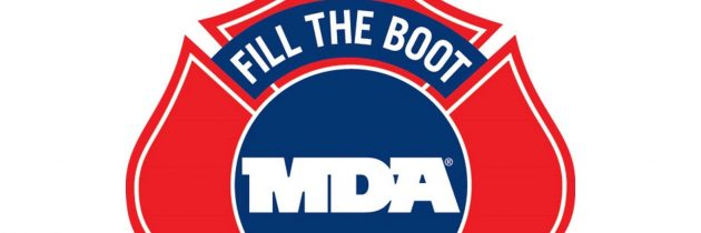 Suffolk Firefighters Support MDA with Fill-the-Boot Drive