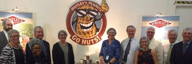 Whitley Peanut Factory Receives Governor's Grant for Expansion