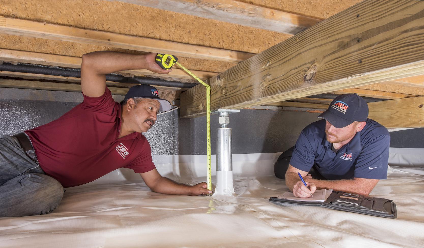 JES Foundation Repair Crawl Space Repair