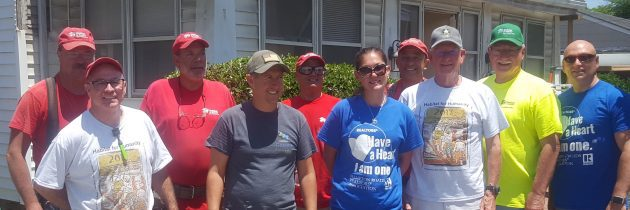 Habitat for Humanity Provides Construction Assistance on Home for Gold Star Mother