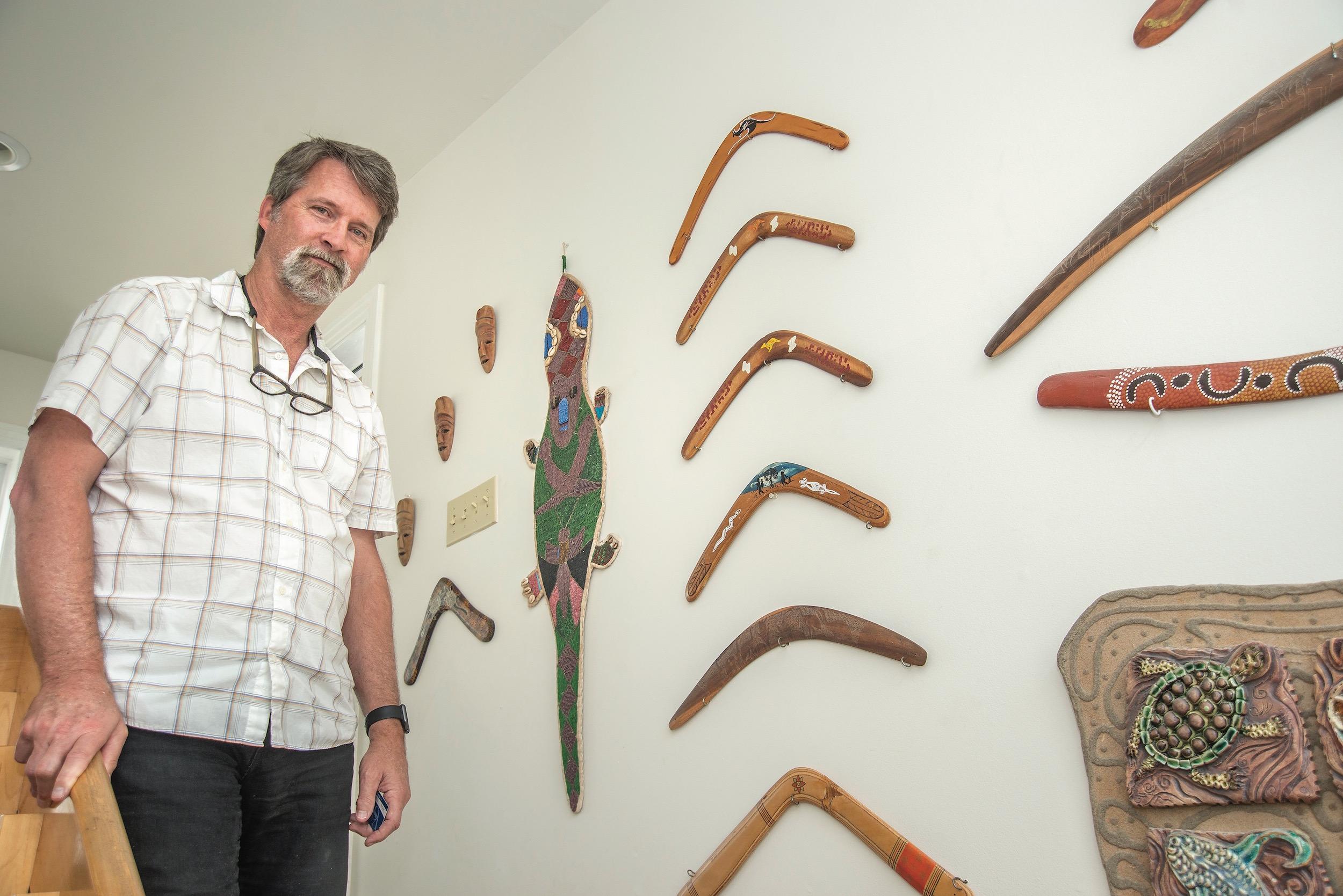 John Koehler at Koehler Books, Virginia Beach