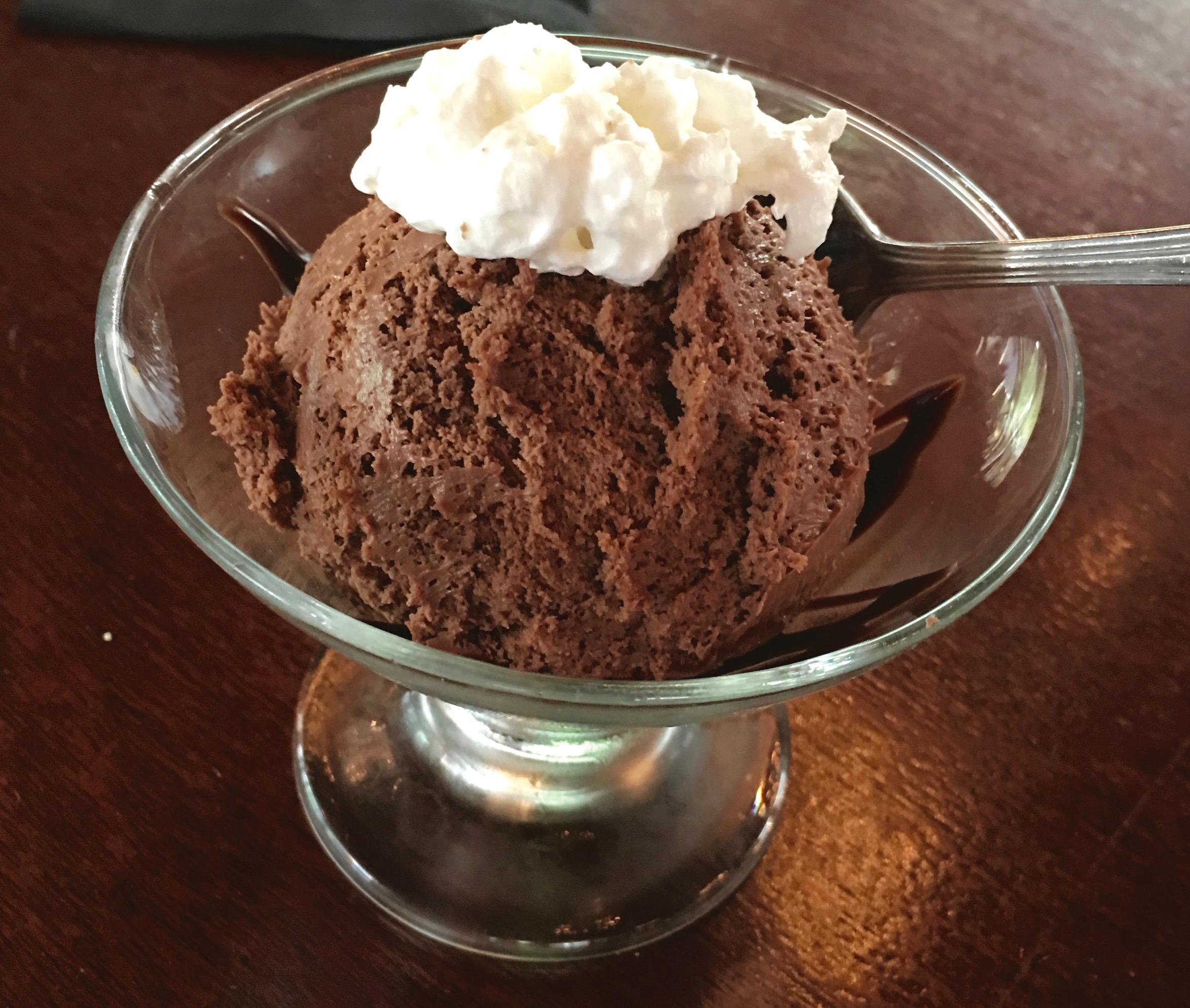 dessert at 219 Bistro, Norfolk