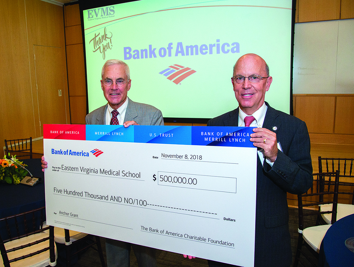 Bank of America, EVMS