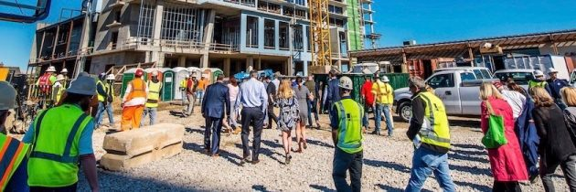 Marriott Cavalier Oceanfront Hotel Hosts Topping Out Ceremony