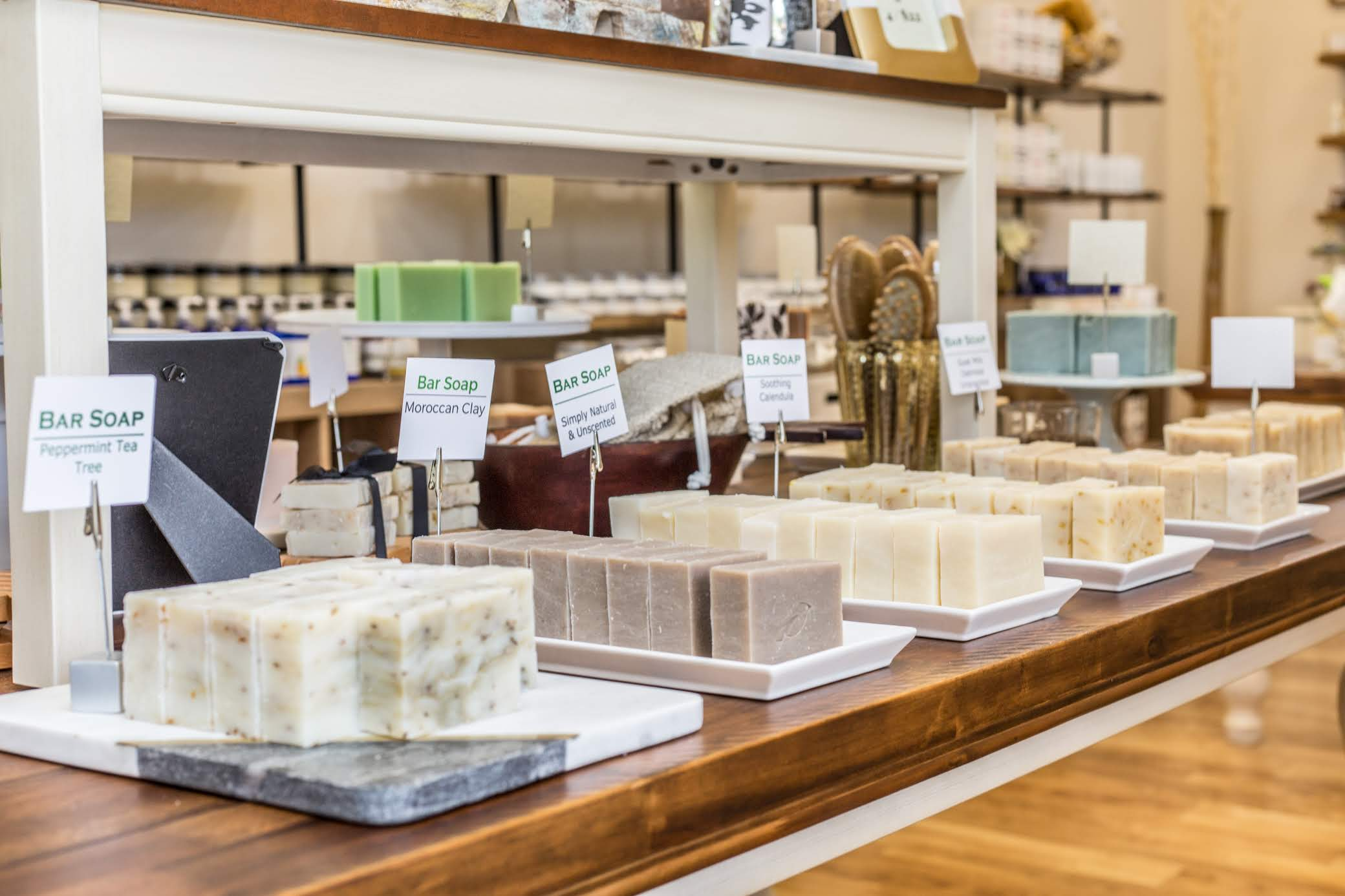 Perfectly Natural Soap, Williamsburg and Smithfield
