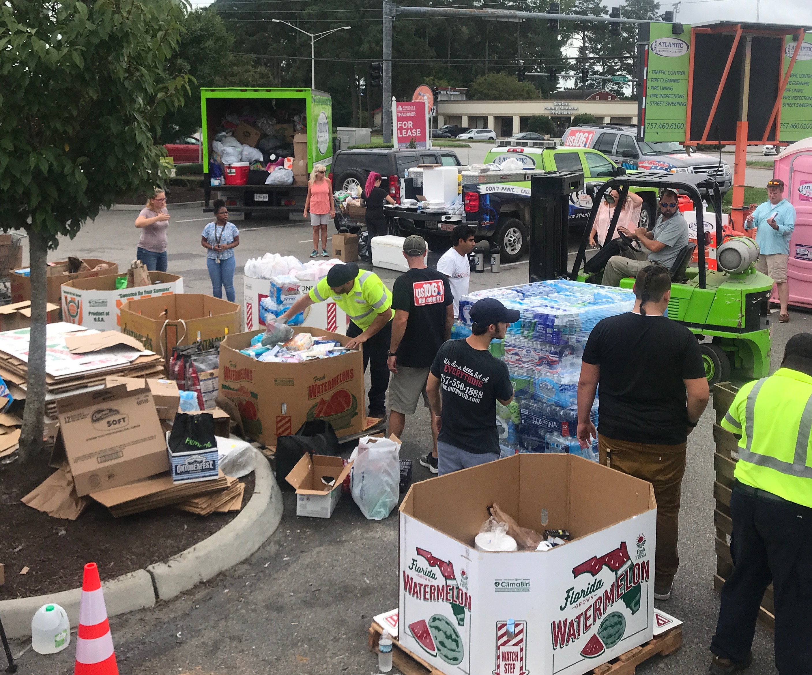 Sinclair Communications, Hurricane Florence donations