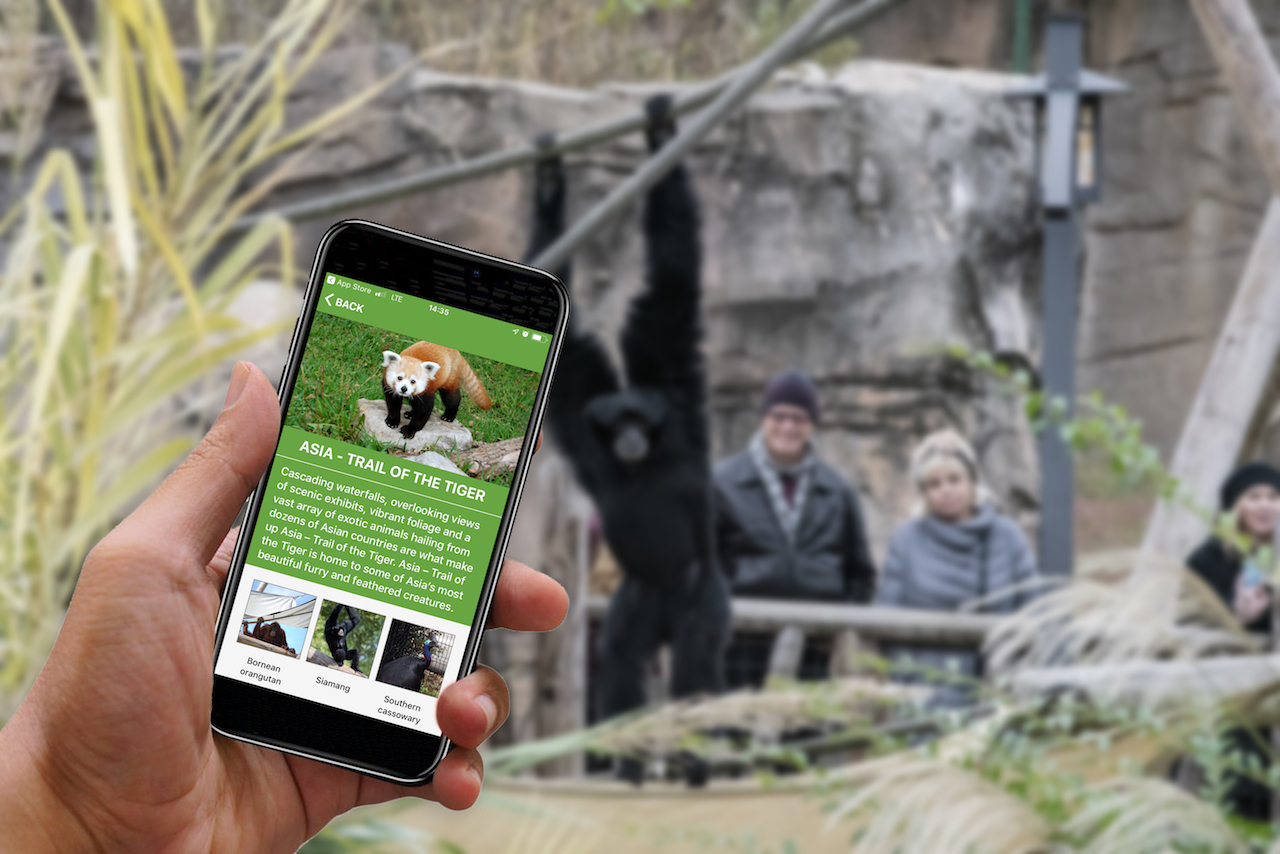 Virginia Zoo mobile app