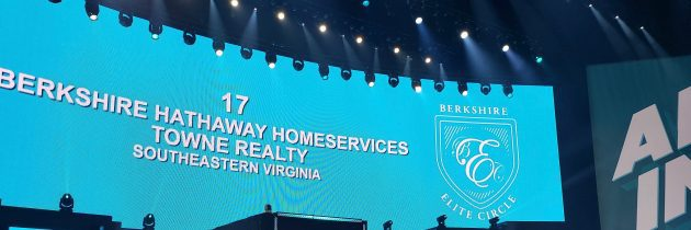 Berkshire Hathaway HomeServices Towne Realty Recognized Nationally