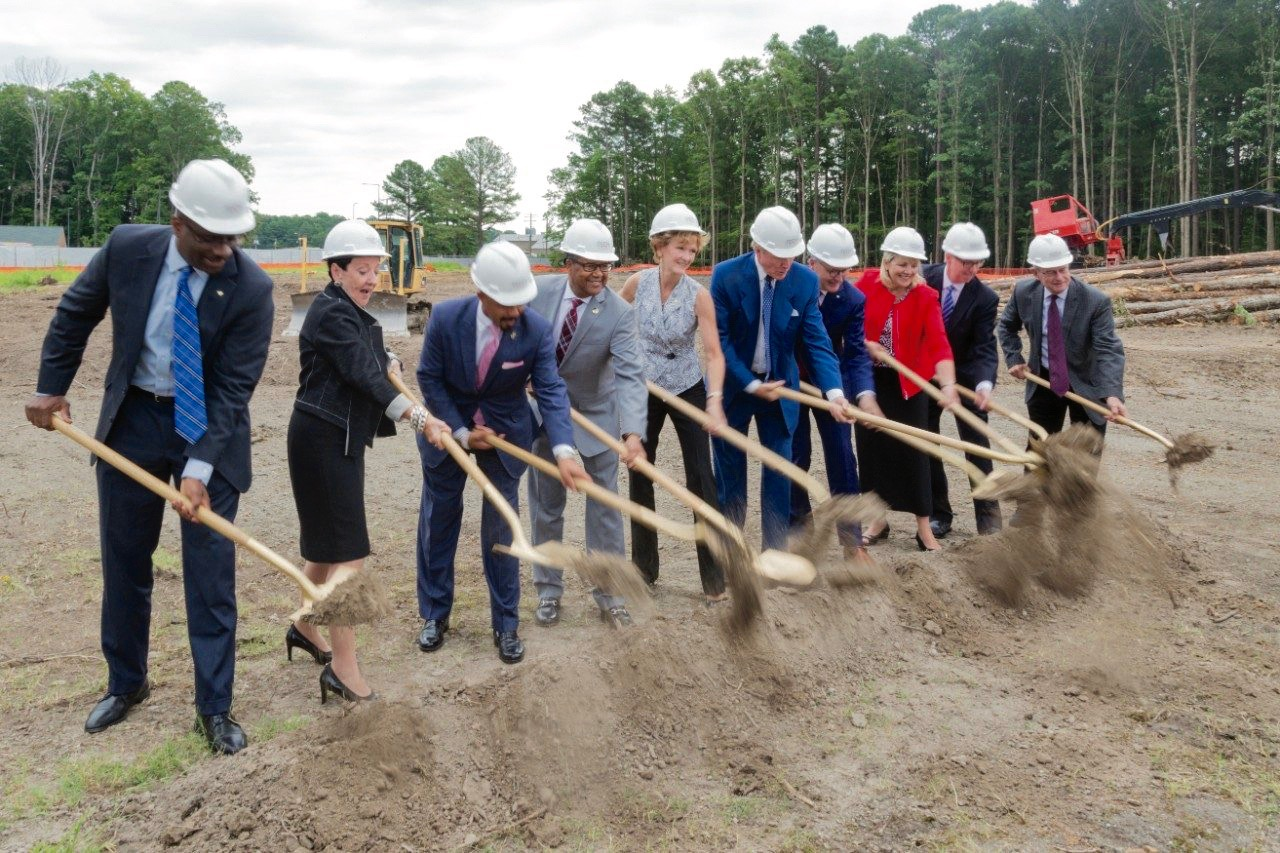 Groundbreaking for Newport News Tech Center
