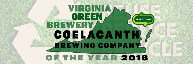 Coelacanth Honored as Green Brewery of the Year