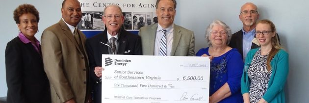 SSSEVA Awarded Grant from Dominion Energy