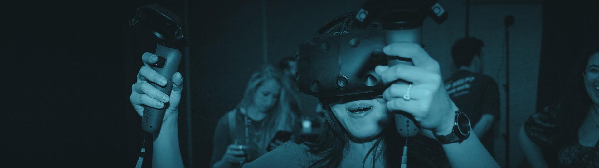Virtual Reality Rental Co., using virtual reality