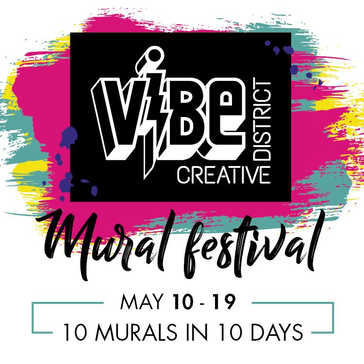 VIBe Mural Festival logo