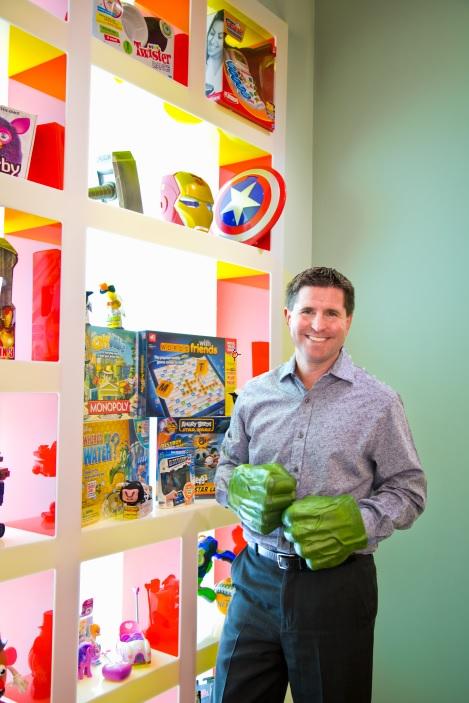 Hasbro North America President Eric Nyman