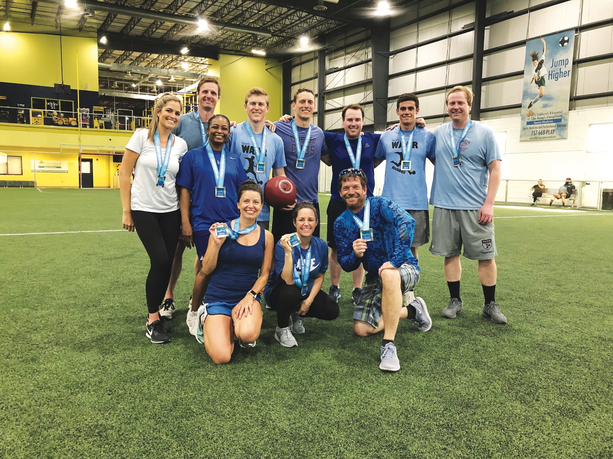 Colliers International kickball tournament