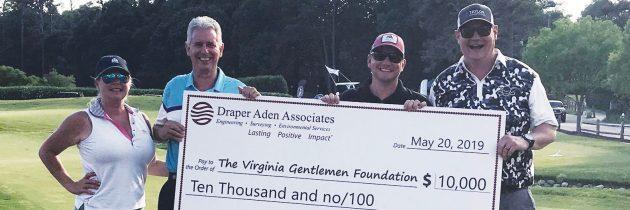 Draper Aden Associates Donated $10,000 to Virginia Gentlemen Foundation